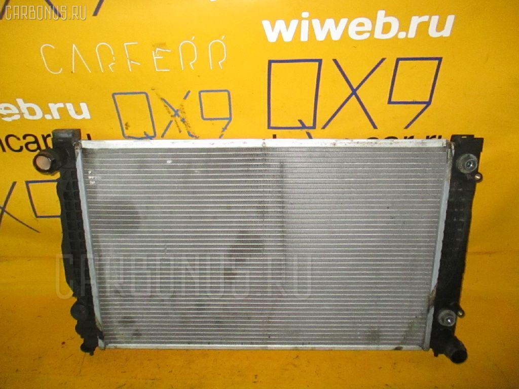 Радиатор ДВС AUDI A4 8DAGA AGA. Фото 3