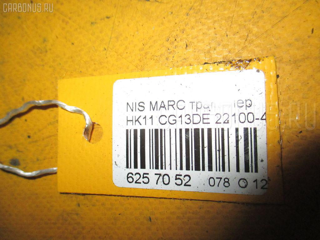Трамблер NISSAN MARCH HK11 CG13DE Фото 3