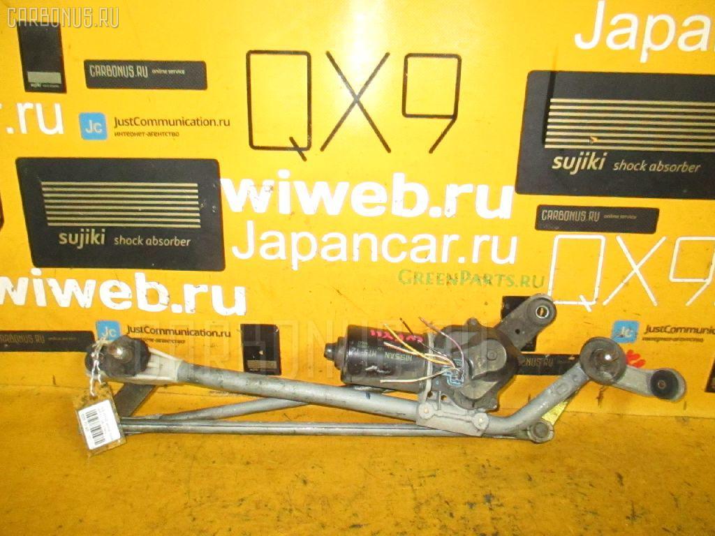 Мотор привода дворников NISSAN WINGROAD WFY11. Фото 1