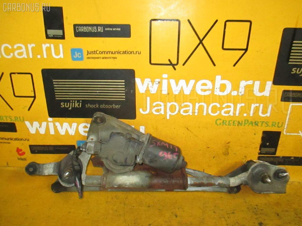Мотор привода дворников TOYOTA IPSUM SXM15G. Фото 4