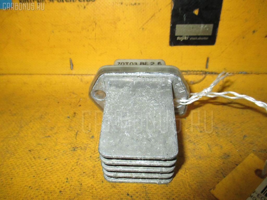 Регулятор скорости мотора отопителя NISSAN PRIMERA QP11 QG18DE. Фото 5