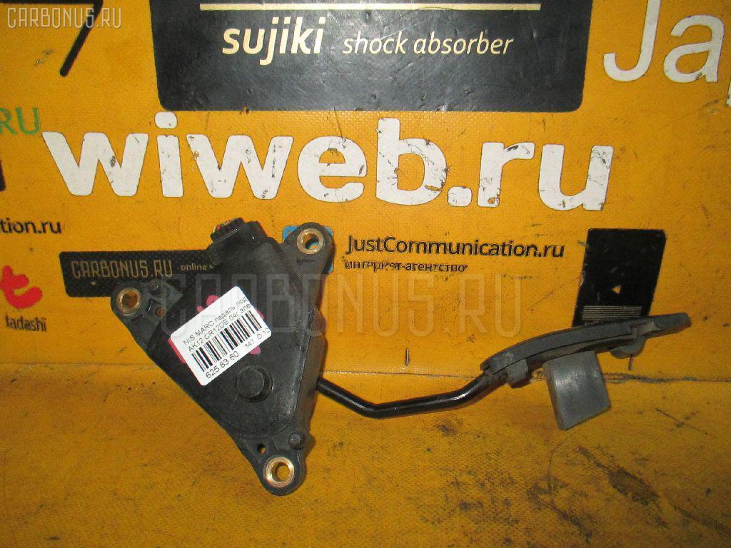 Педаль подачи топлива NISSAN MARCH AK12 CR12DE. Фото 6