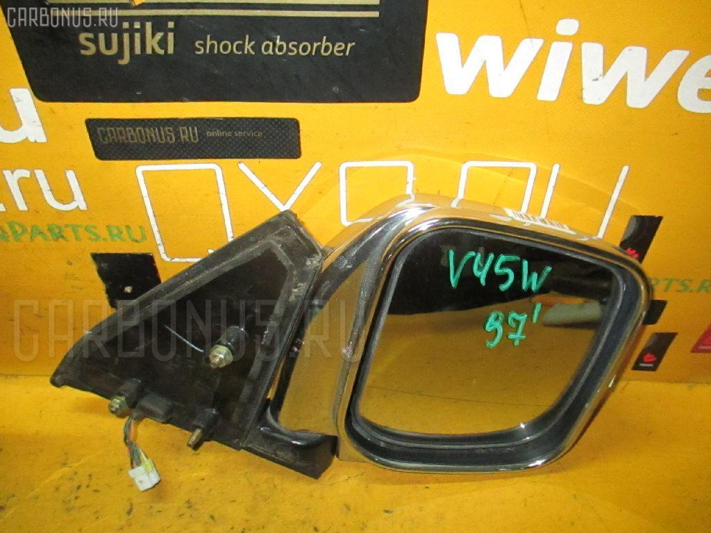 Зеркало двери боковой MITSUBISHI PAJERO V45W. Фото 6