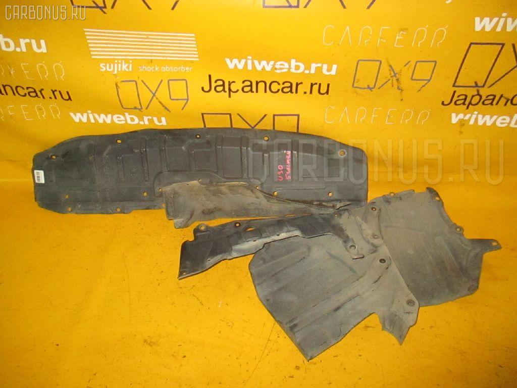 Защита двигателя NISSAN PRESAGE U30 KA24DE. Фото 9