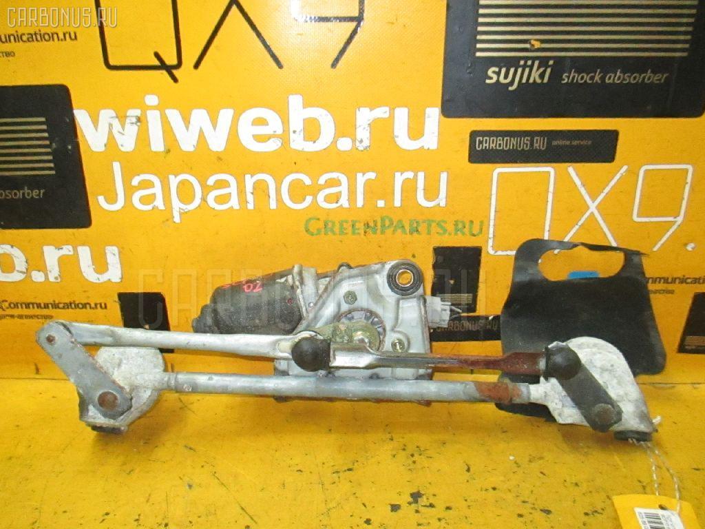 Мотор привода дворников TOYOTA VITZ SCP10. Фото 11
