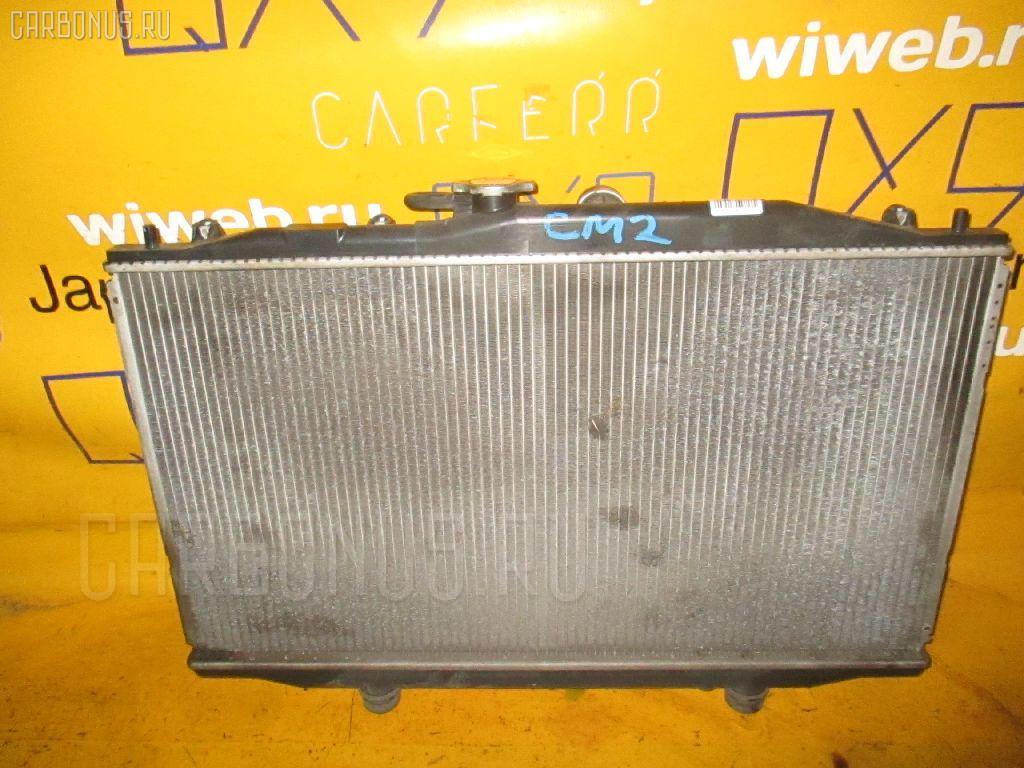 Радиатор ДВС HONDA ACCORD WAGON CM2 K24A. Фото 7