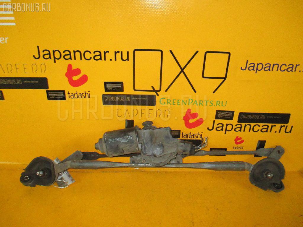 Мотор привода дворников TOYOTA SUCCEED NCP58G. Фото 1