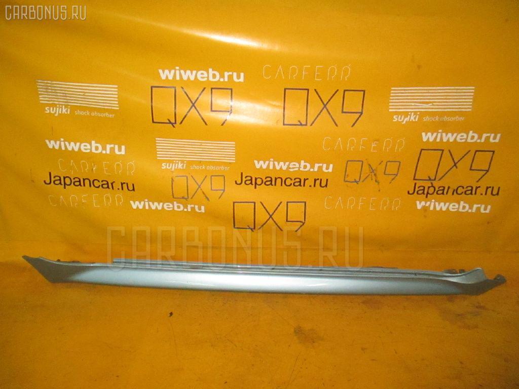 Порог кузова пластиковый ( обвес ) TOYOTA IST NCP60. Фото 9
