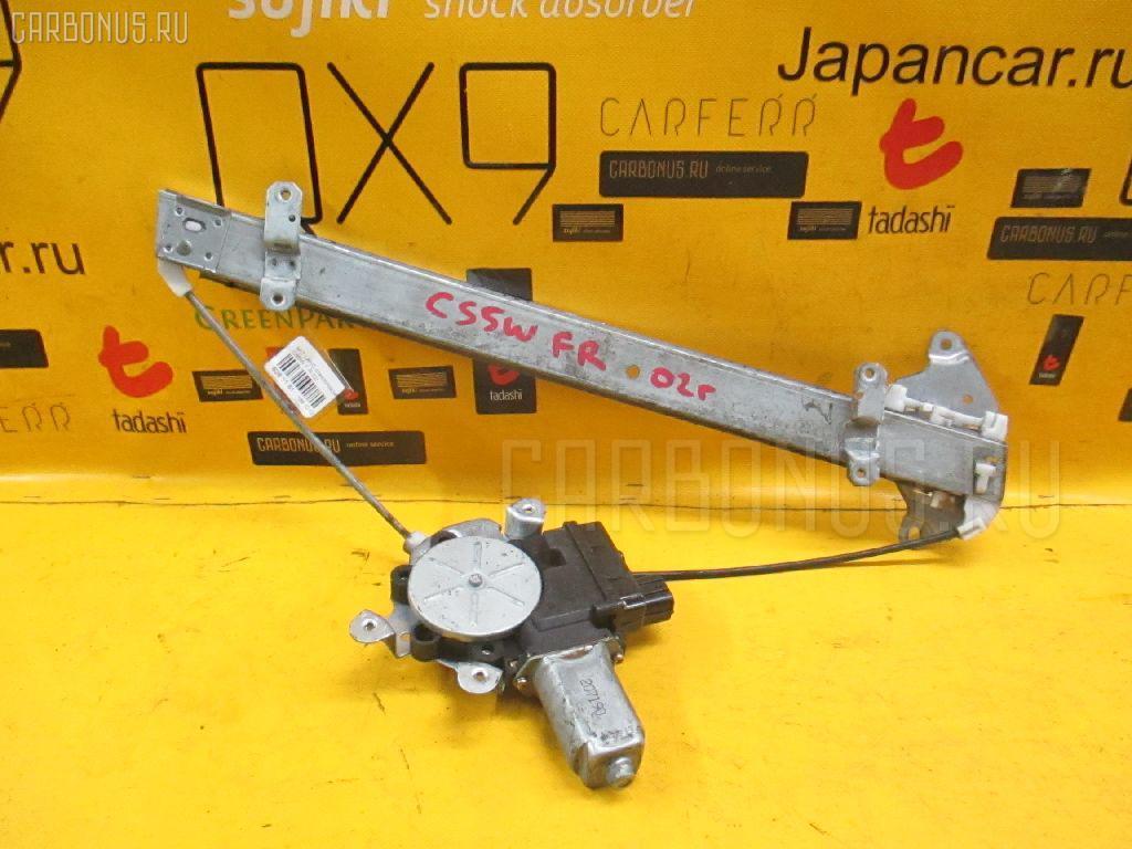 Стеклоподъемный механизм MITSUBISHI LANCER CEDIA WAGON CS5W. Фото 11