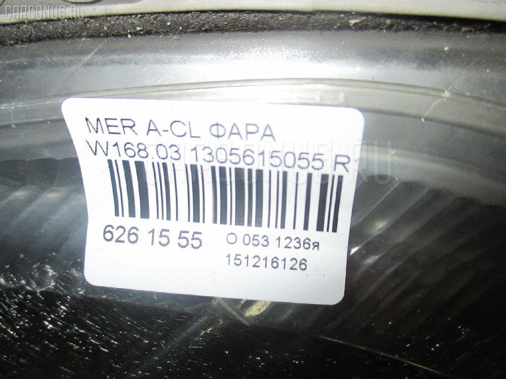 Фара MERCEDES-BENZ A-CLASS W168.033 Фото 4
