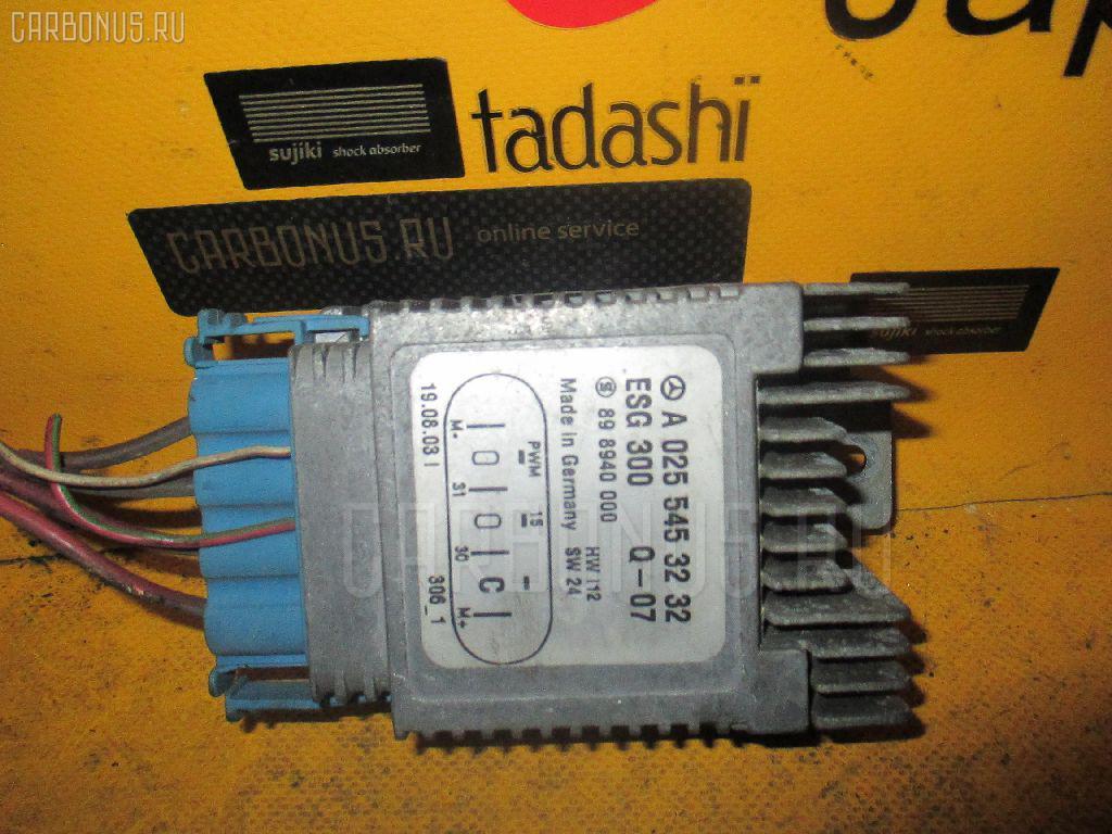 Блок управления вентилятором MERCEDES-BENZ A-CLASS W168.033 166.960. Фото 2