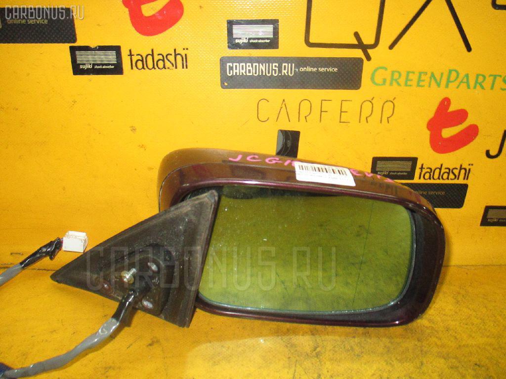 Зеркало двери боковой Toyota Brevis JCG10 Фото 1