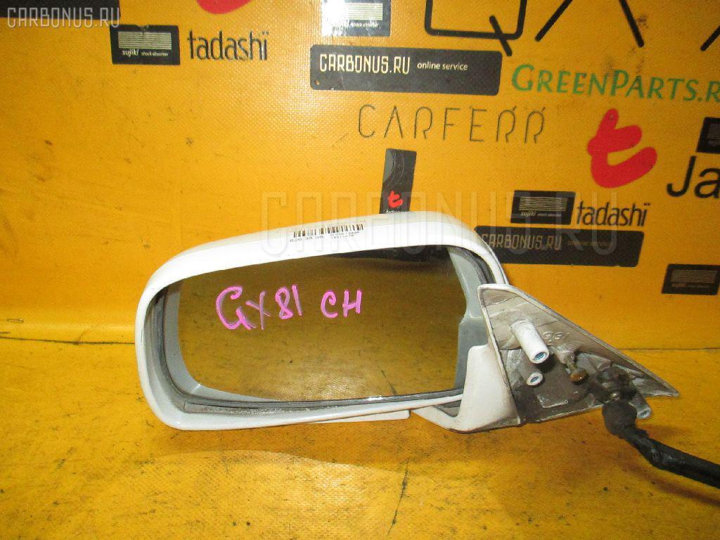 Зеркало двери боковой TOYOTA CHASER GX81. Фото 3