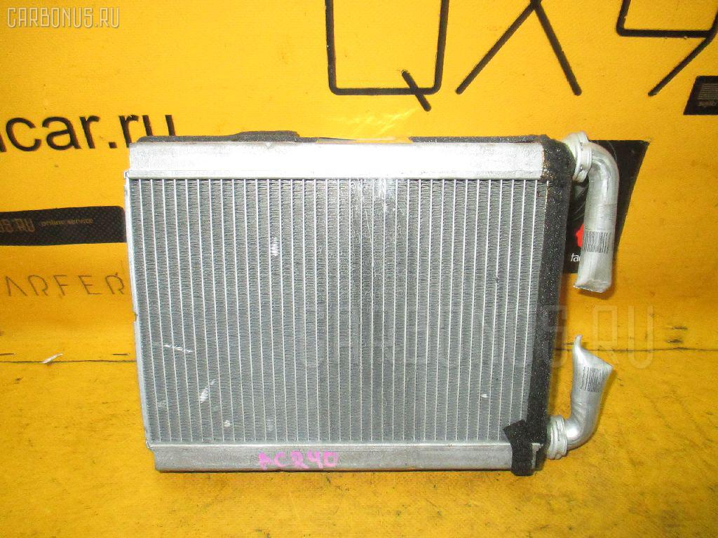Радиатор печки TOYOTA ESTIMA ACR40W 2AZ-FE. Фото 2