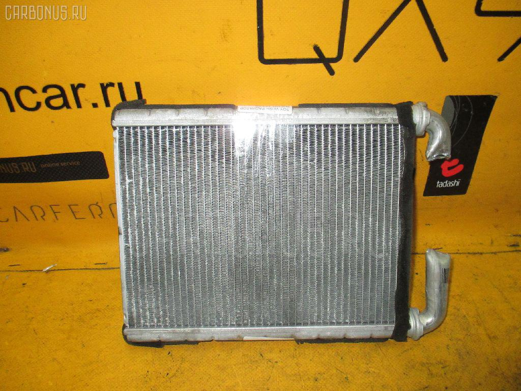 Радиатор печки TOYOTA WISH ANE10G 1AZ-FSE. Фото 7