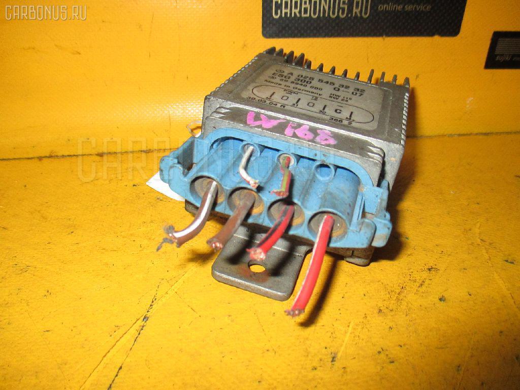 Блок управления вентилятором MERCEDES-BENZ A-CLASS W168.033 166.960 Фото 1