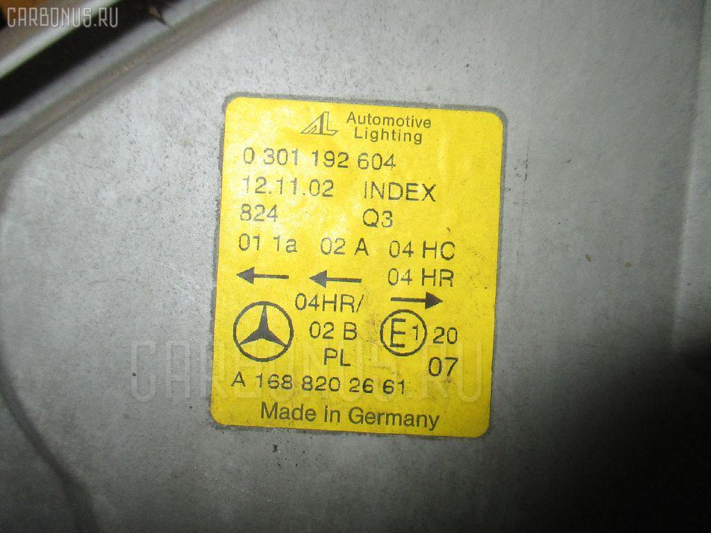 Фара MERCEDES-BENZ A-CLASS W168.135 Фото 3