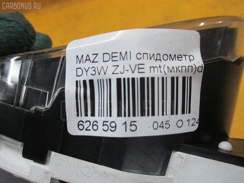 Спидометр MAZDA DEMIO DY3W ZJ-VE Фото 3