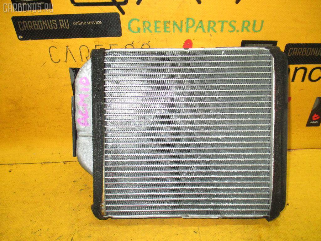 Радиатор печки TOYOTA GAIA ACM10G 1AZ-FSE. Фото 7