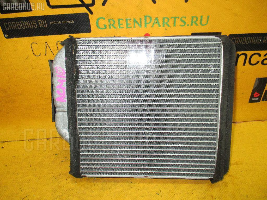Радиатор печки TOYOTA GAIA ACM10G 1AZ-FSE. Фото 9