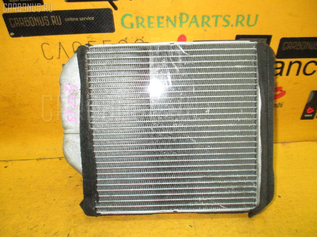 Радиатор печки TOYOTA CALDINA ST215G 3S-FE. Фото 10