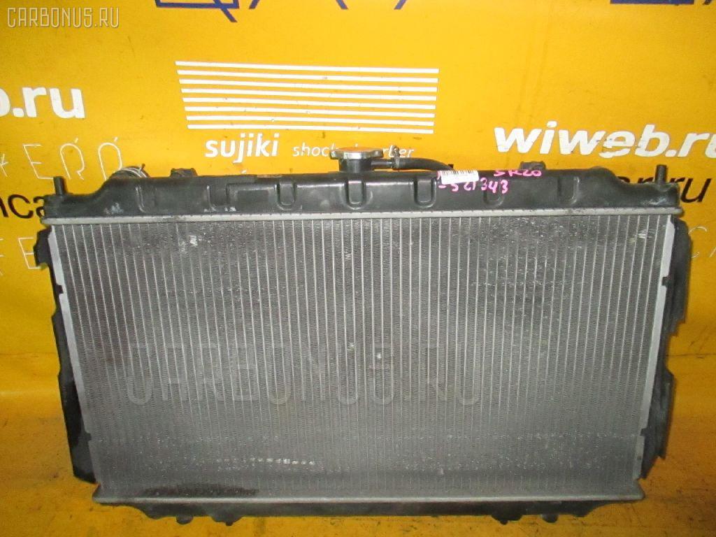 Радиатор ДВС NISSAN PRIMERA HP11 SR20DE. Фото 4