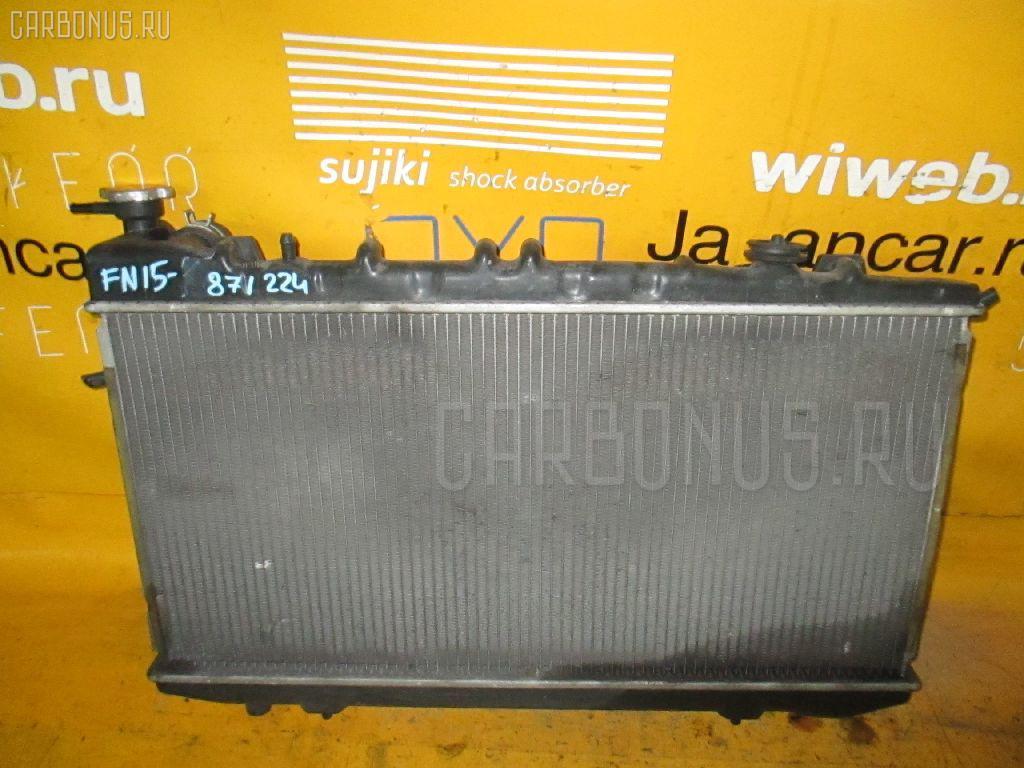 Радиатор ДВС NISSAN FN15 GA15DE. Фото 2