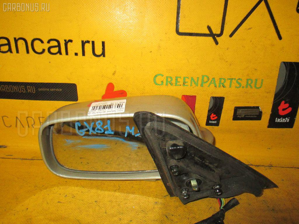 Зеркало двери боковой Toyota Mark ii GX81 Фото 1