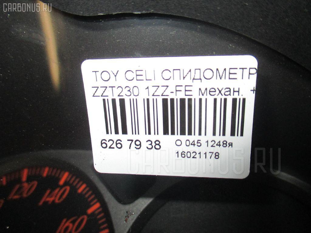 Спидометр TOYOTA CELICA ZZT230 1ZZ-FE Фото 3