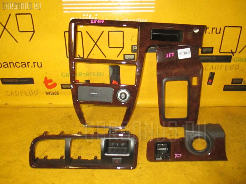 Консоль магнитофона TOYOTA GX100. Фото 9