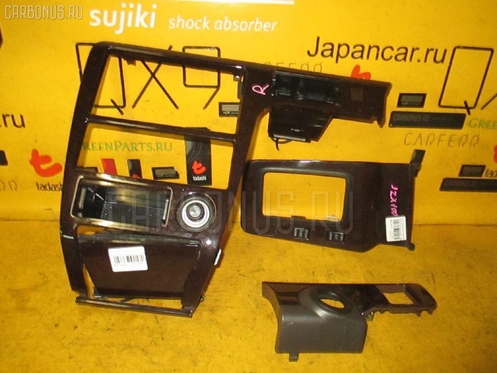 Консоль магнитофона TOYOTA JZX100. Фото 5