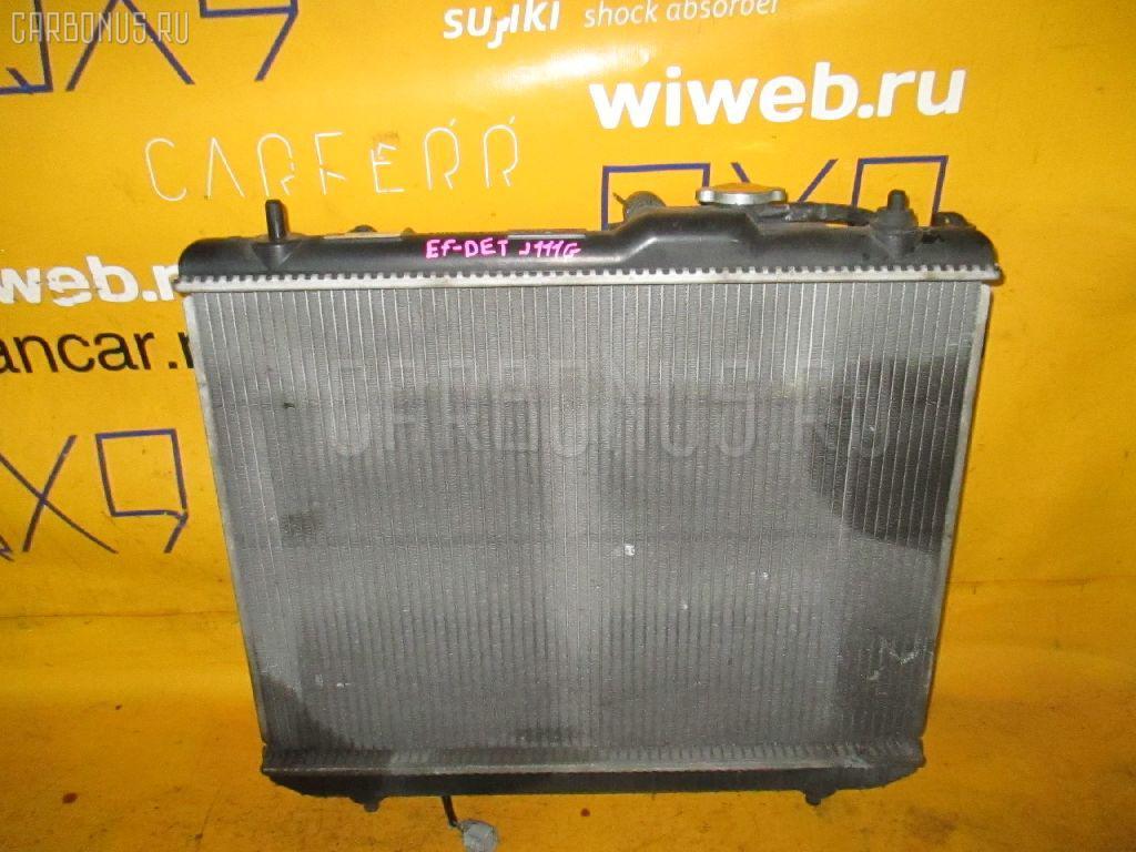 Радиатор ДВС DAIHATSU TERIOS KID J111G EF-DET. Фото 3