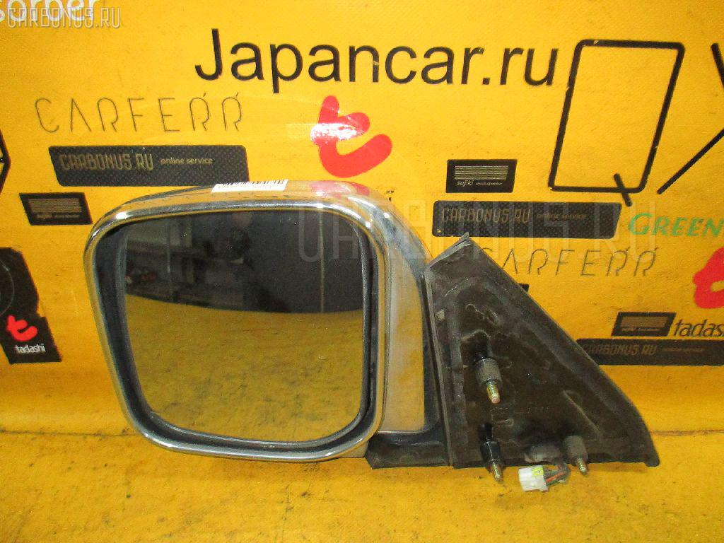 Зеркало двери боковой MITSUBISHI PAJERO V43W. Фото 4