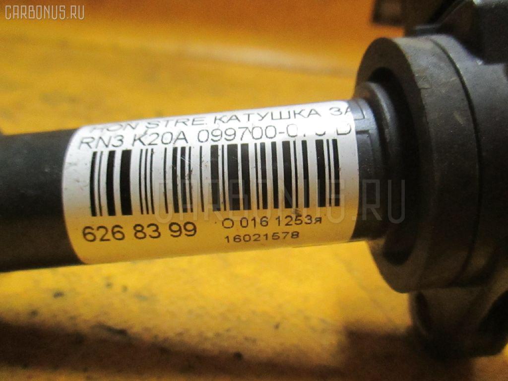 Катушка зажигания HONDA STREAM RN3 K20A Фото 2