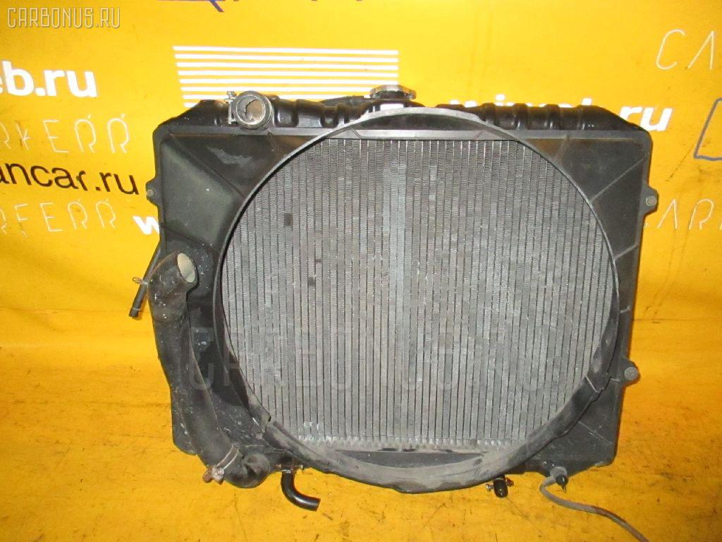 Радиатор ДВС MITSUBISHI PAJERO V43W 6G72. Фото 6