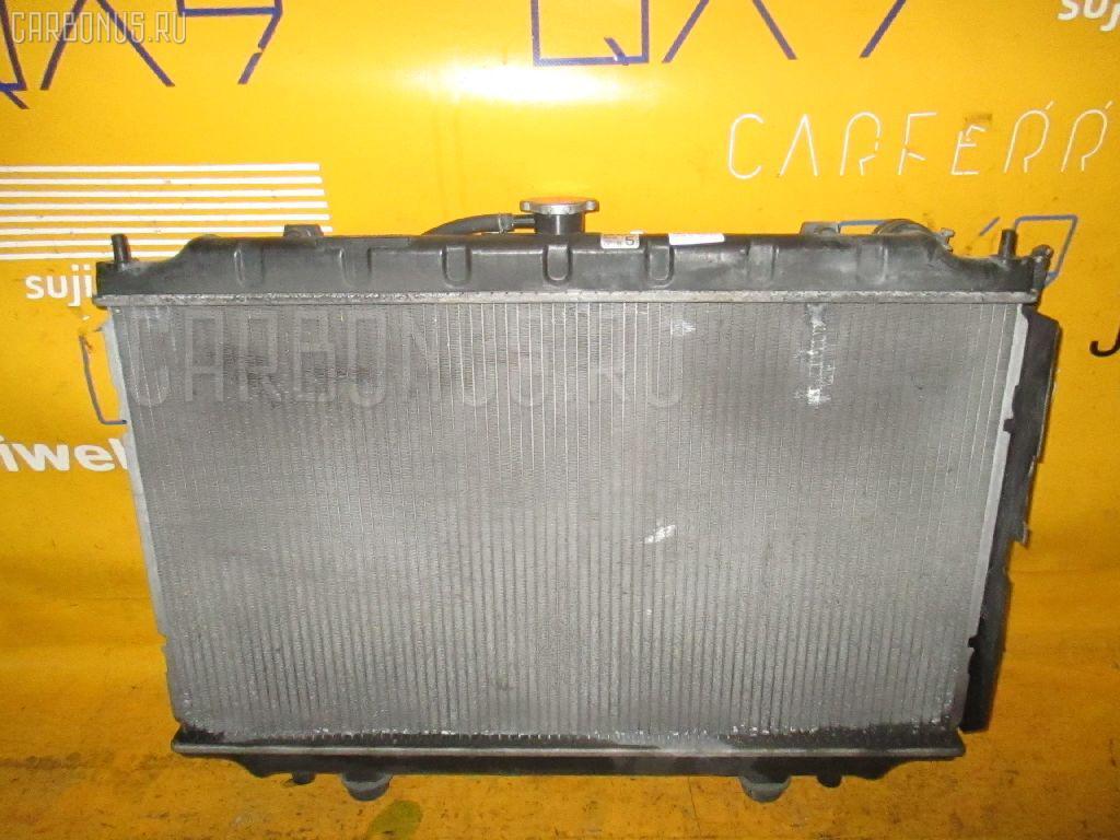 Радиатор ДВС NISSAN CEFIRO WAGON WA32 VQ20DE. Фото 9