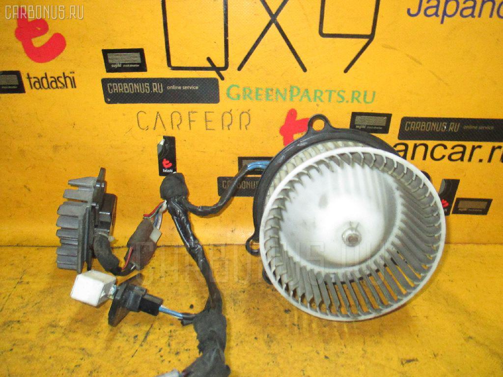 Мотор печки TOYOTA ESTIMA EMINA CXR10G. Фото 8