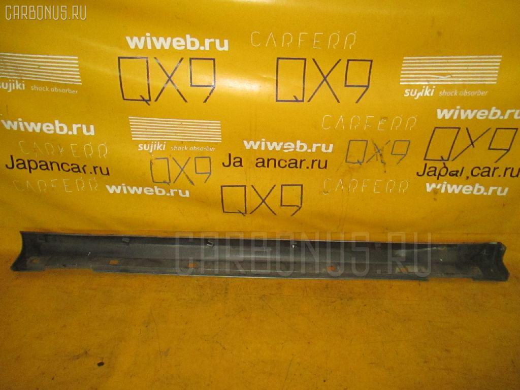 Порог кузова пластиковый ( обвес ) SUBARU IMPREZA WAGON GG9. Фото 2