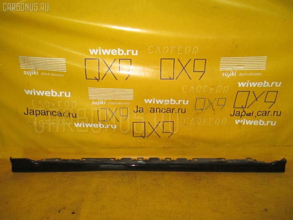 Порог кузова пластиковый ( обвес ) TOYOTA COROLLA FIELDER NZE141G Фото 3