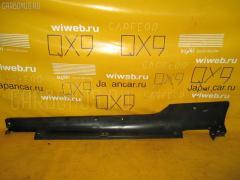 Порог кузова пластиковый ( обвес ) Honda Cr-z ZF1 Фото 2