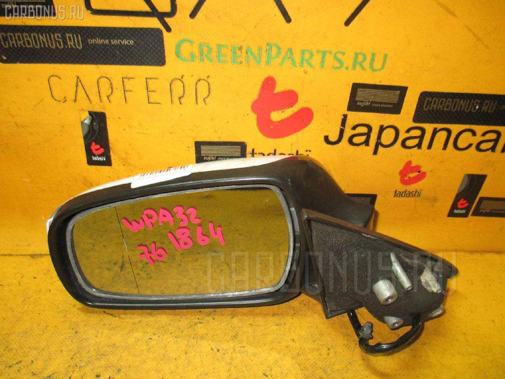 Зеркало двери боковой NISSAN CEFIRO WAGON WPA32. Фото 4