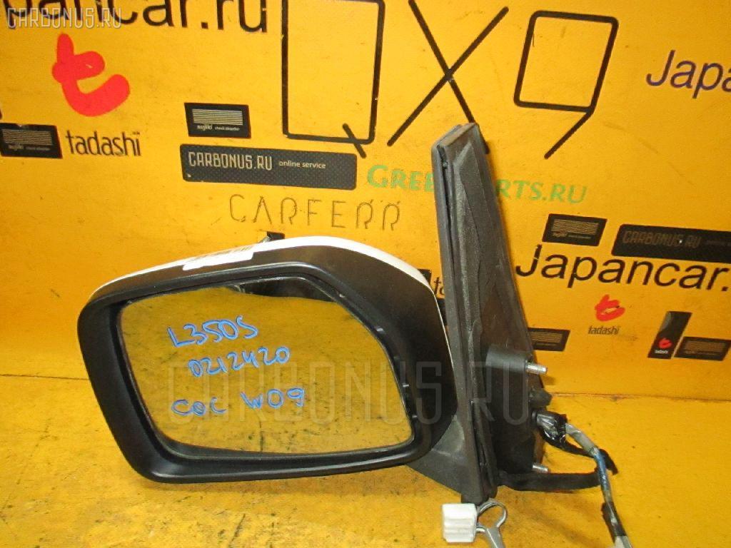 Зеркало двери боковой DAIHATSU TAFT L350S. Фото 3