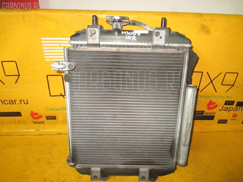 Радиатор ДВС DAIHATSU BOON M300S 1KR-FE. Фото 1