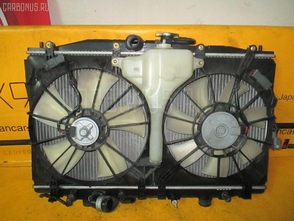 Радиатор ДВС HONDA ACCORD WAGON CM2 K24A. Фото 9
