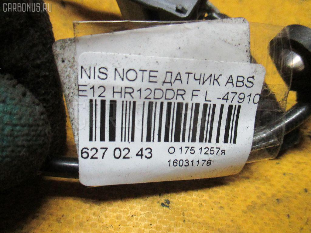 Датчик ABS NISSAN NOTE E12 HR12DDR Фото 2