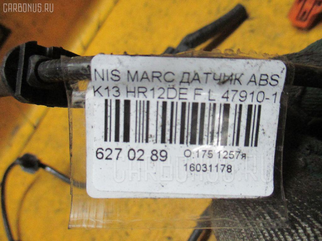Датчик ABS NISSAN MARCH K13 HR12DE Фото 2