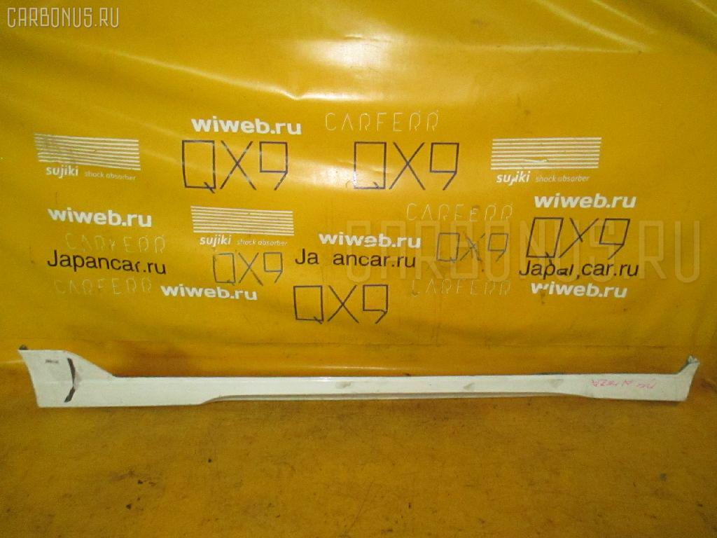 Порог кузова пластиковый ( обвес ) TOYOTA ALTEZZA SXE10. Фото 4