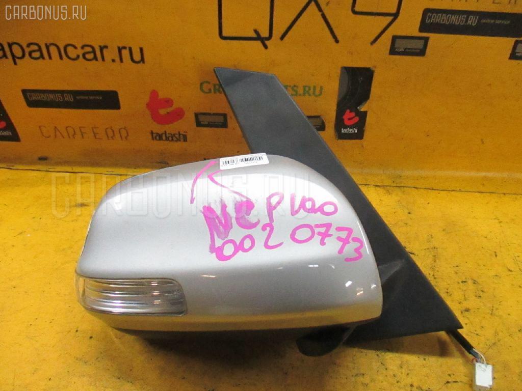 Зеркало двери боковой TOYOTA RACTIS NCP100 Фото 2