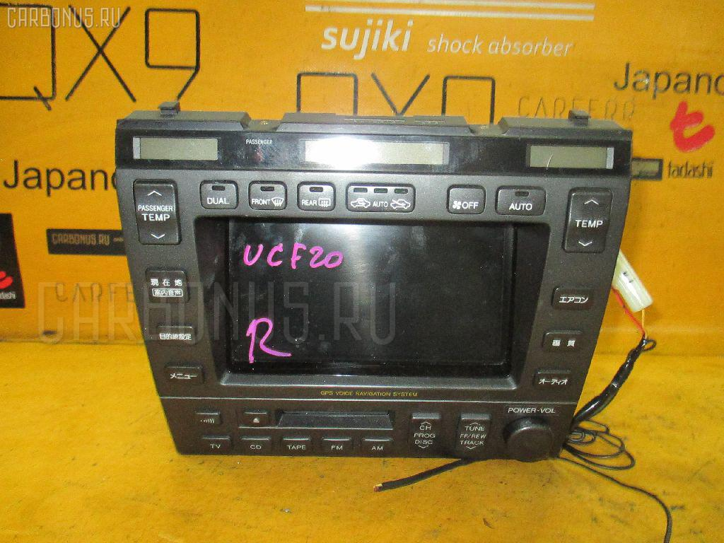 Блок управления климатконтроля TOYOTA CELSIOR UCF20 1UZ-FE Фото 1