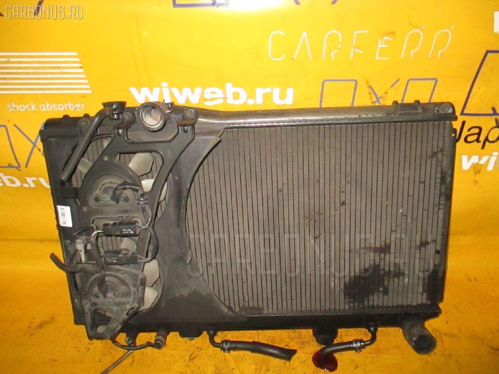 Радиатор ДВС TOYOTA MARK II JZX81 1JZ-GE. Фото 6